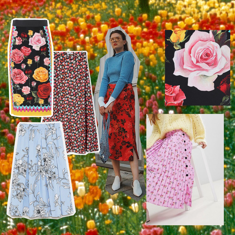 Outfit Inspo: Blumenröcke