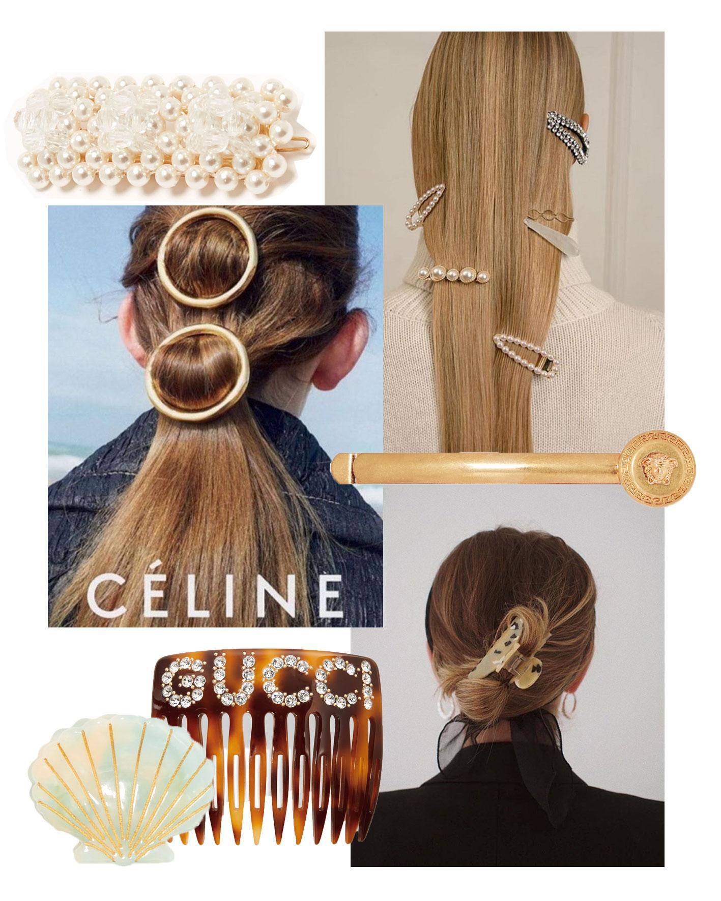 Haarschmuck: Haarspangen