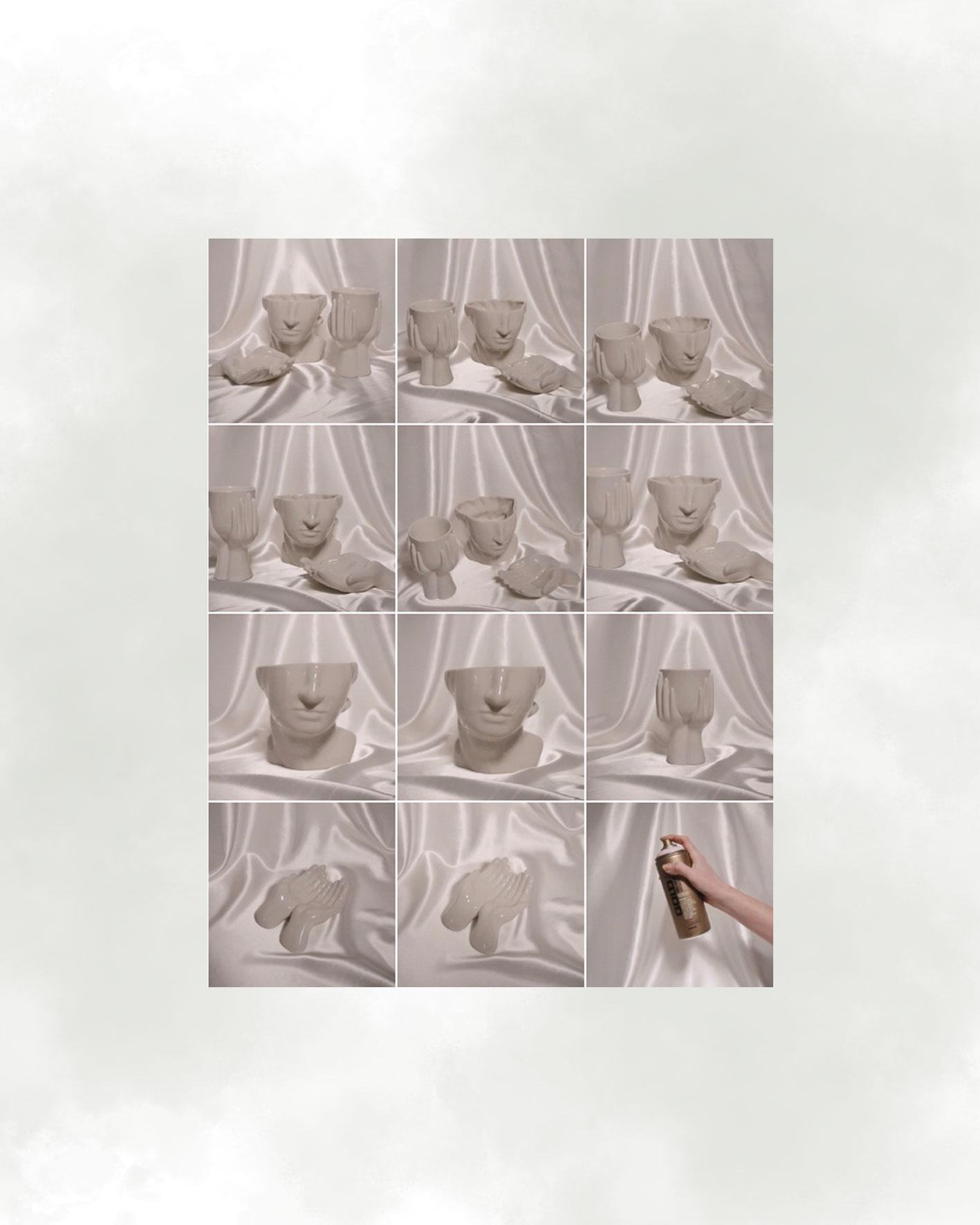 Vor dem Makeover: Vasen von H&M Home