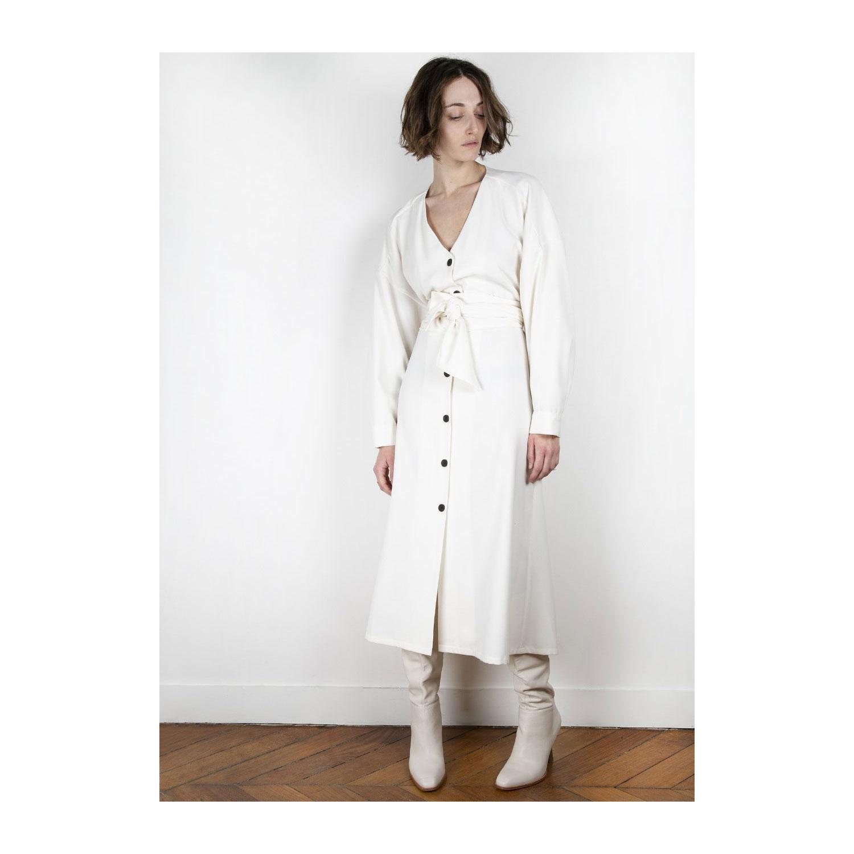 Neon and Neutrals: Kleid von The Frankie Shop