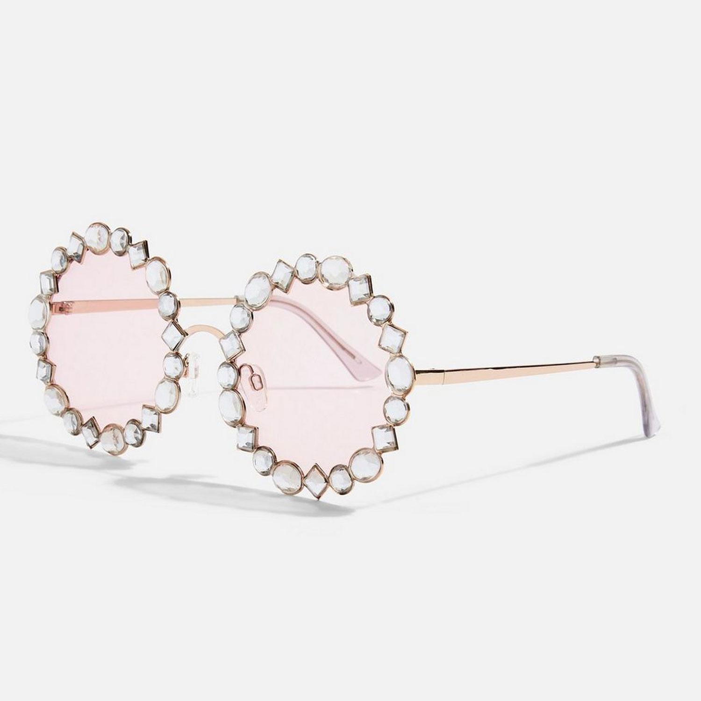 Strassschmuck: Brille von Topshop