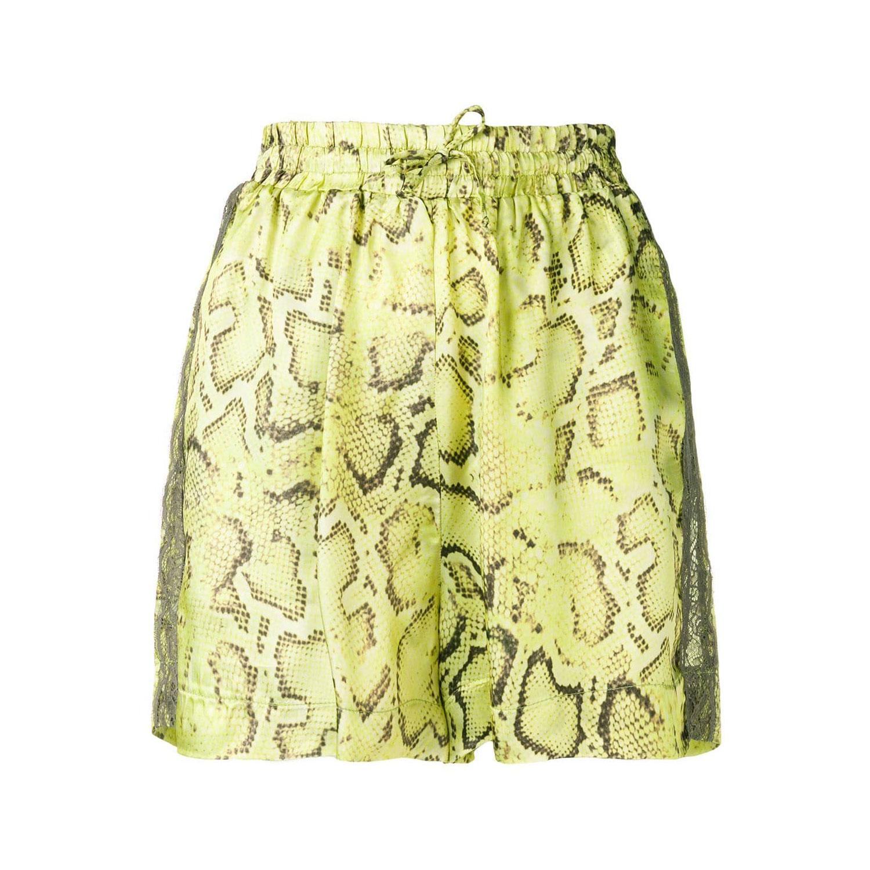 Schlangenmuster: Shorts von Pinko