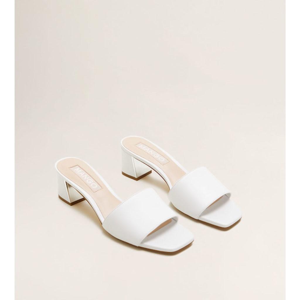Square Toe: Schuhe von Mango