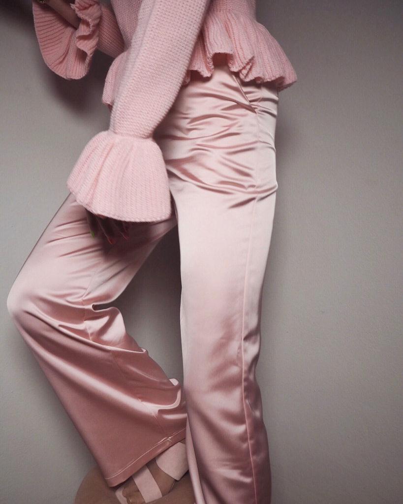 Monochrom Pastell: Rosa