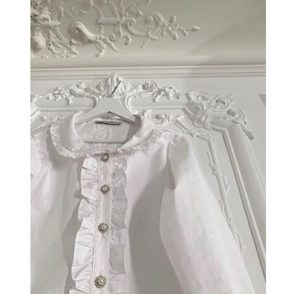 Weiße Bluse von Milkwhite