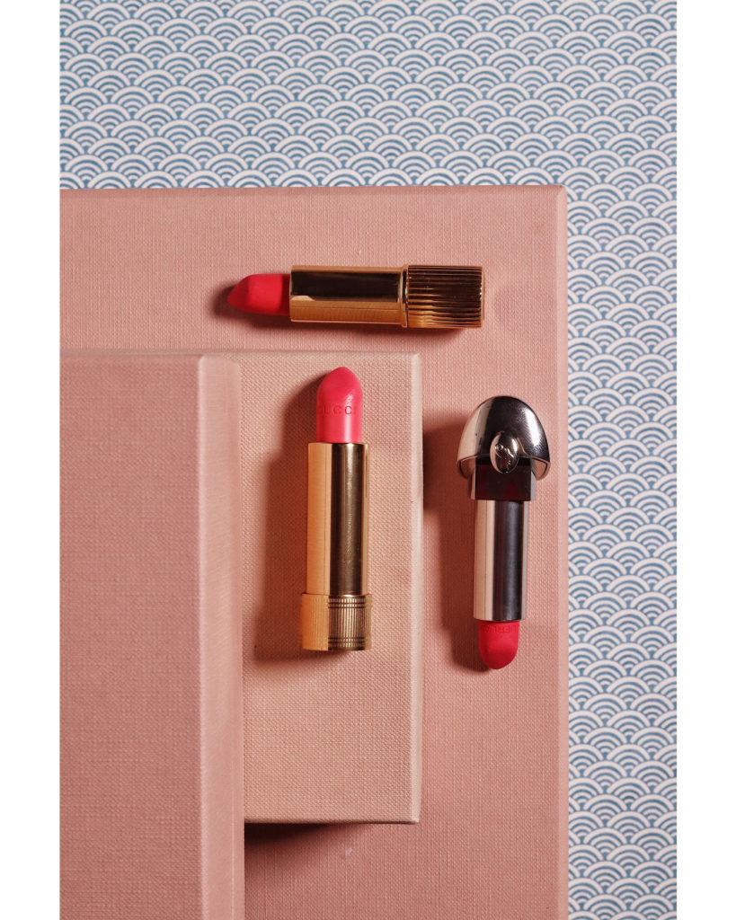 Lipstick Wardrobe: Rouje, Gucci und Guerlain