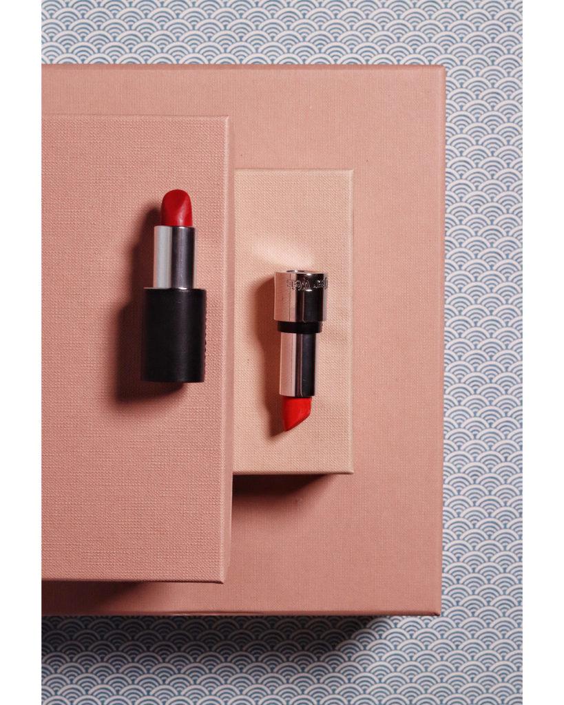 Lipstick Wardrobe: La Bouge Rouge und Kjaer Weis