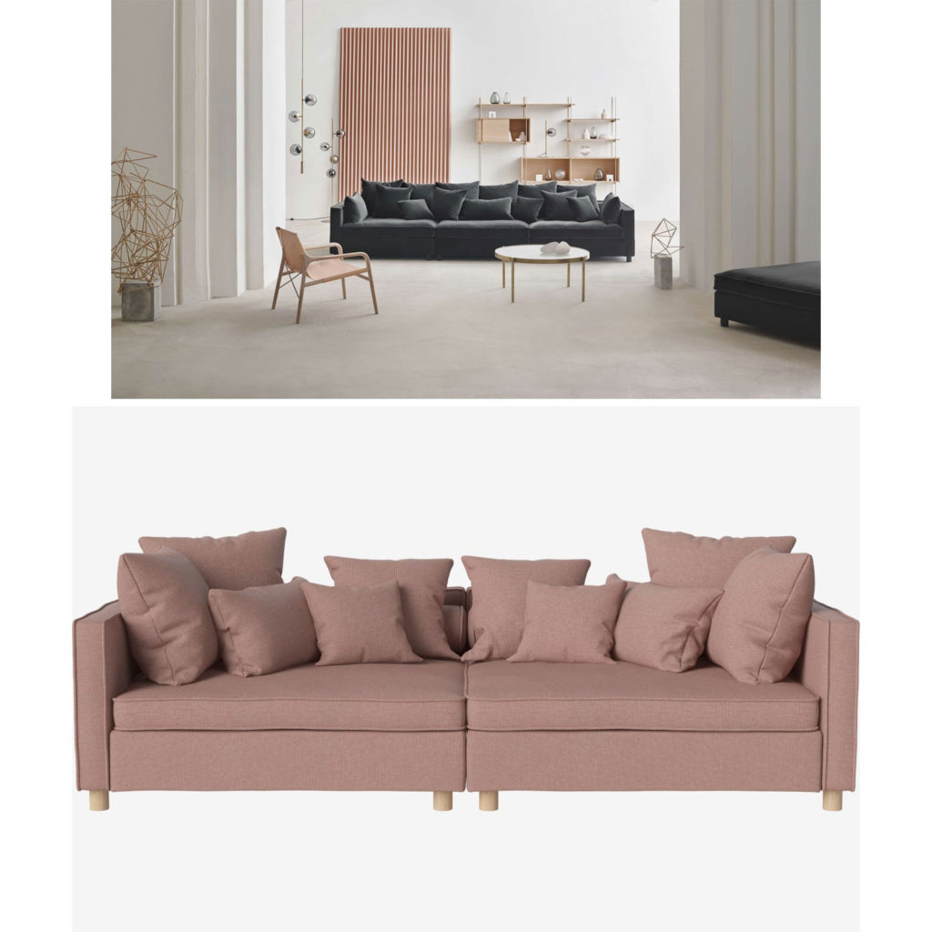 Investment-Pieces: Couch von Bolia