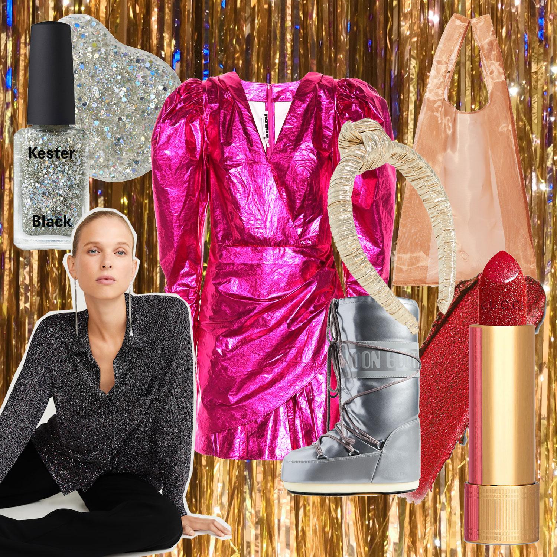 Trend: Glitter und Metallic