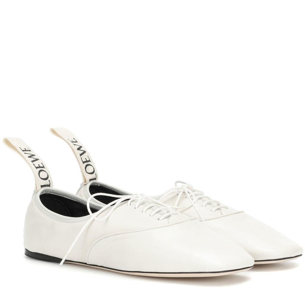 Schuhtrends: Ballet Flats von Loewe