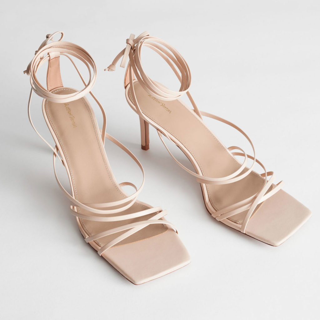 Schuhtrends: Square Toe Sandalen von And Other Stories