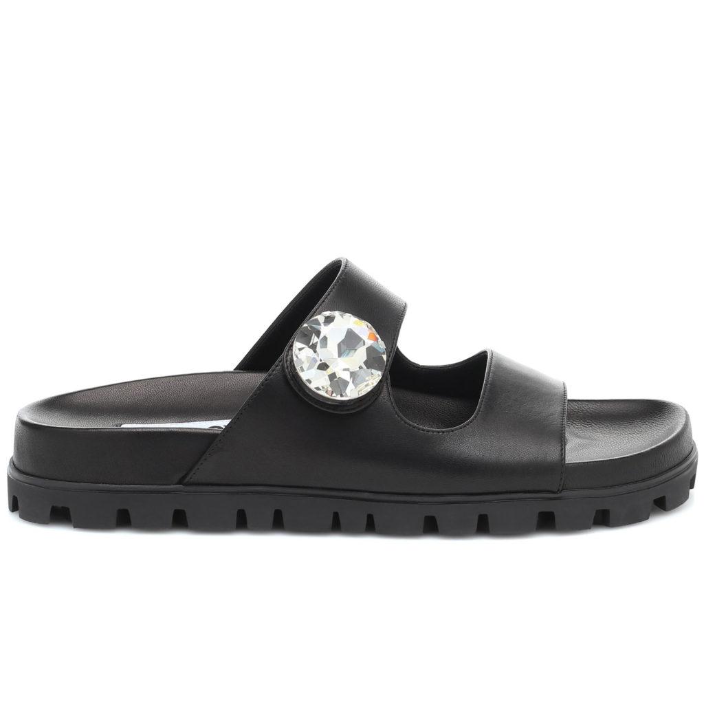 Schuhtrends: Sandalen von Miu Miu
