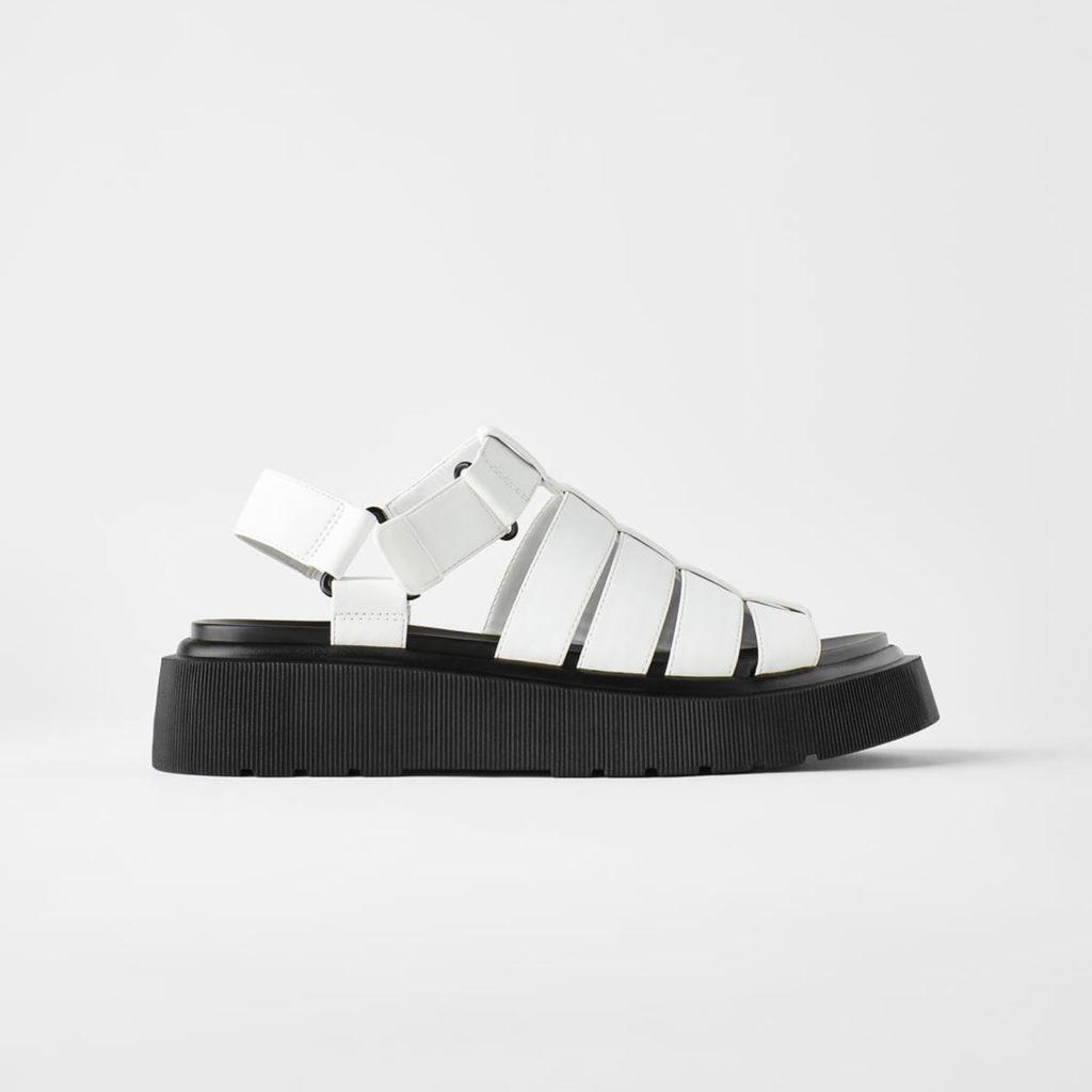 Schuhtrends: Sandalen von Zara