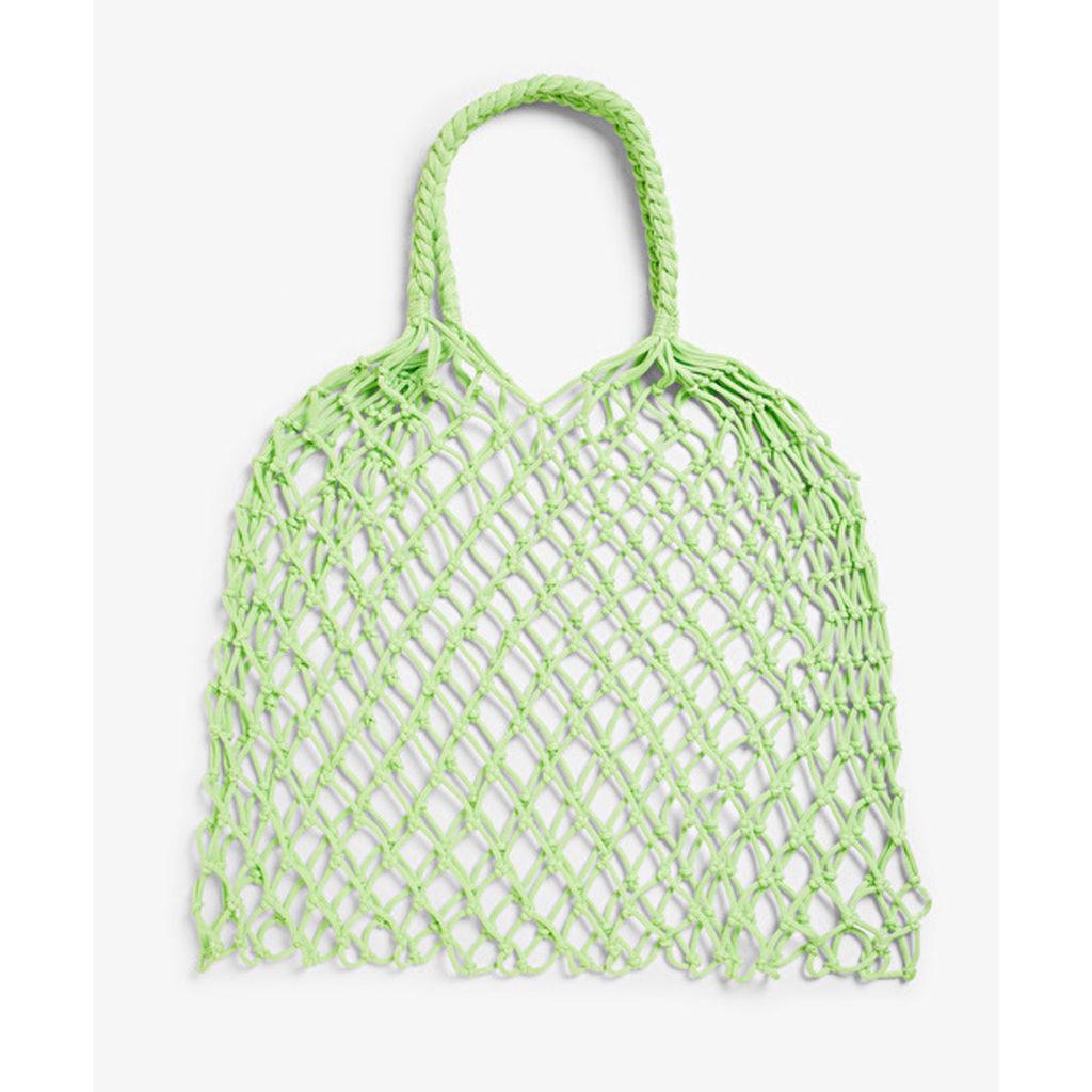 Lilac & Lime: Tasche von Monki